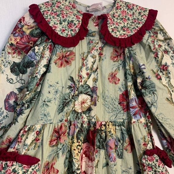 Vintage Wee Clancy Floral Romper - image 2