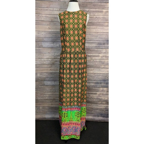 Vintage Ruth Walter Sleeveless Maxi Dress