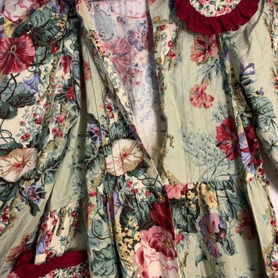 Vintage Wee Clancy Floral Romper - image 8