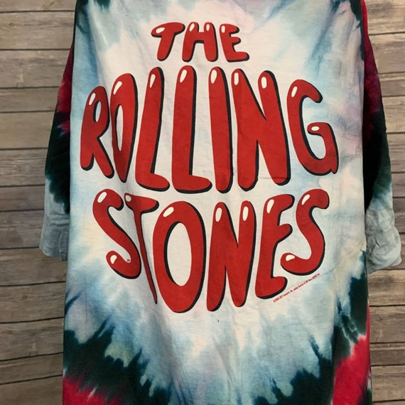 Vintage 2002 Rolling Stones Tie Dye T-shirt - image 7