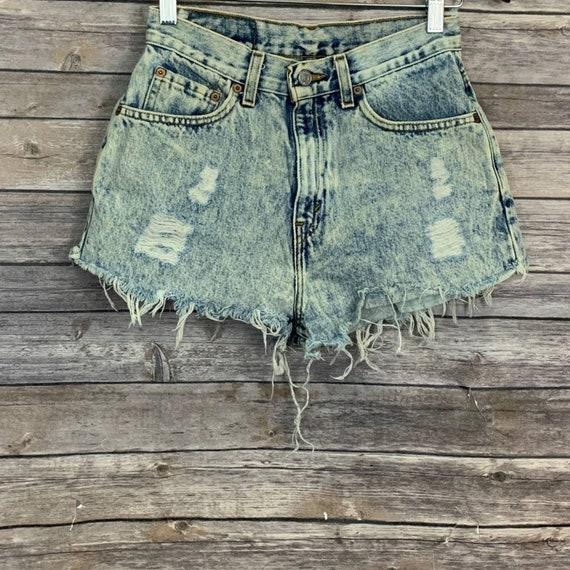 Vintage Levi's 512 Raw Hem Shorts