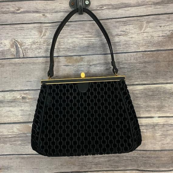 Vintage Coblentz Original Velvet Handbag