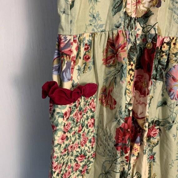 Vintage Wee Clancy Floral Romper - image 3