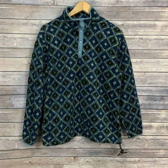 Vintage LL Bean Pullover Fleece Pullover
