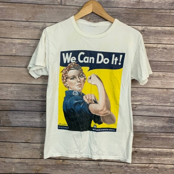 Vintage We Can Do It Poster Tee