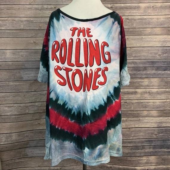 Vintage 2002 Rolling Stones Tie Dye T-shirt - image 6