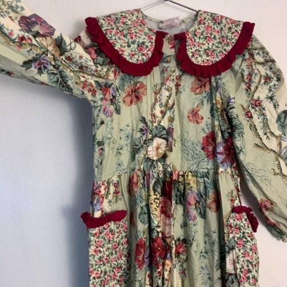 Vintage Wee Clancy Floral Romper - image 6