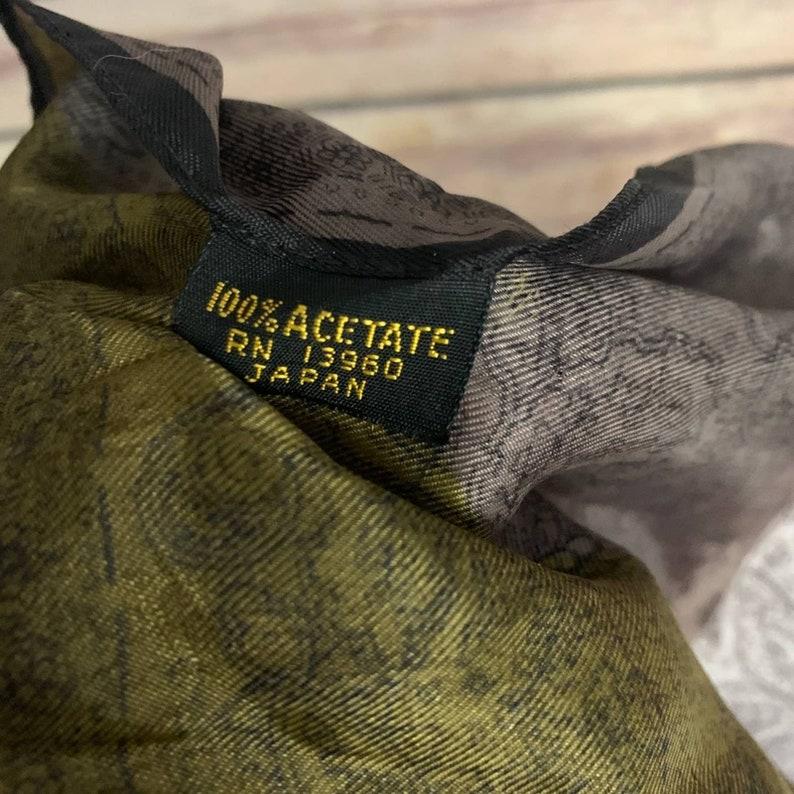 Vintage Acetate Bandana Made in Japan