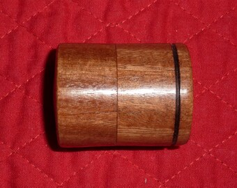 Quina Small Case Handturned Wood Box