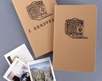 Stamped Instax Mini Photo Album