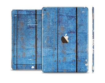 The Vintage Colored Wooden Planks Skin Set for the Apple iPad All Models Available