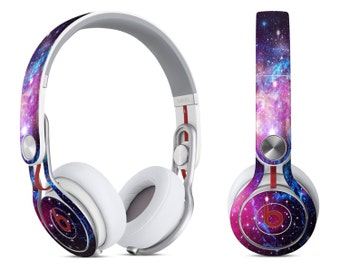 143adca55c8 Bright Trippy Space - Decal Skin-Kit for the Beats by Dre Headphones (All  Versions Available)