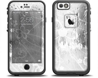 Lilla iPhone 7/8 Custodia Cover in pelle unico fatto a mano Etsy