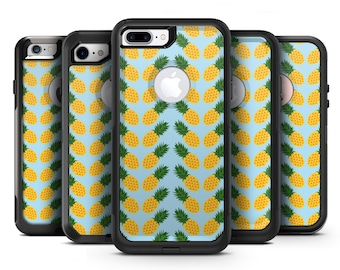 Tropical Twist Pineapple v1 - OtterBox Case Skin-Kit for the iPhone, Galaxy & More