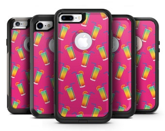 Tropical Twist Drinks v16 - OtterBox Case Skin-Kit for the iPhone, Galaxy & More