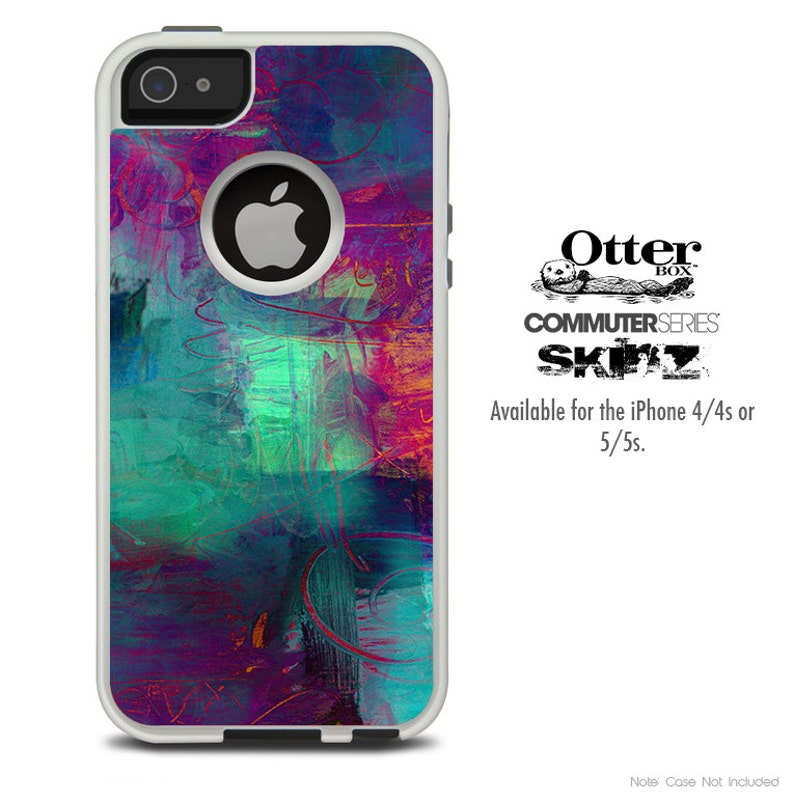 info for 5e175 8e0a6 The Abstract Oil Painting V3 OtterBox Case Skin Set