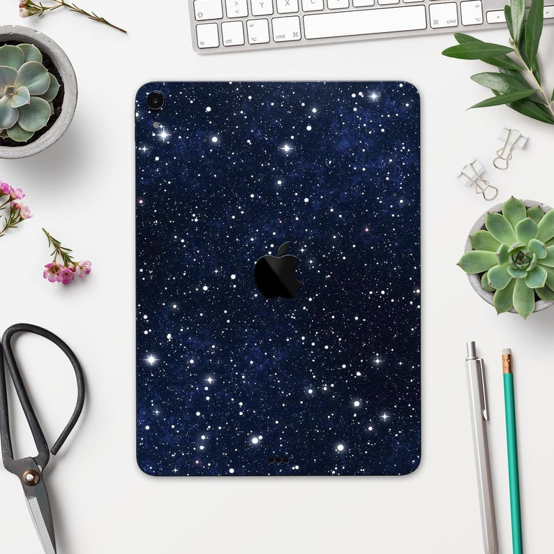 9.7 All Models Available Bright Starry Sky Air or Mini 10.5 11 Full Body Skin Decal for iPad Pro 12.9