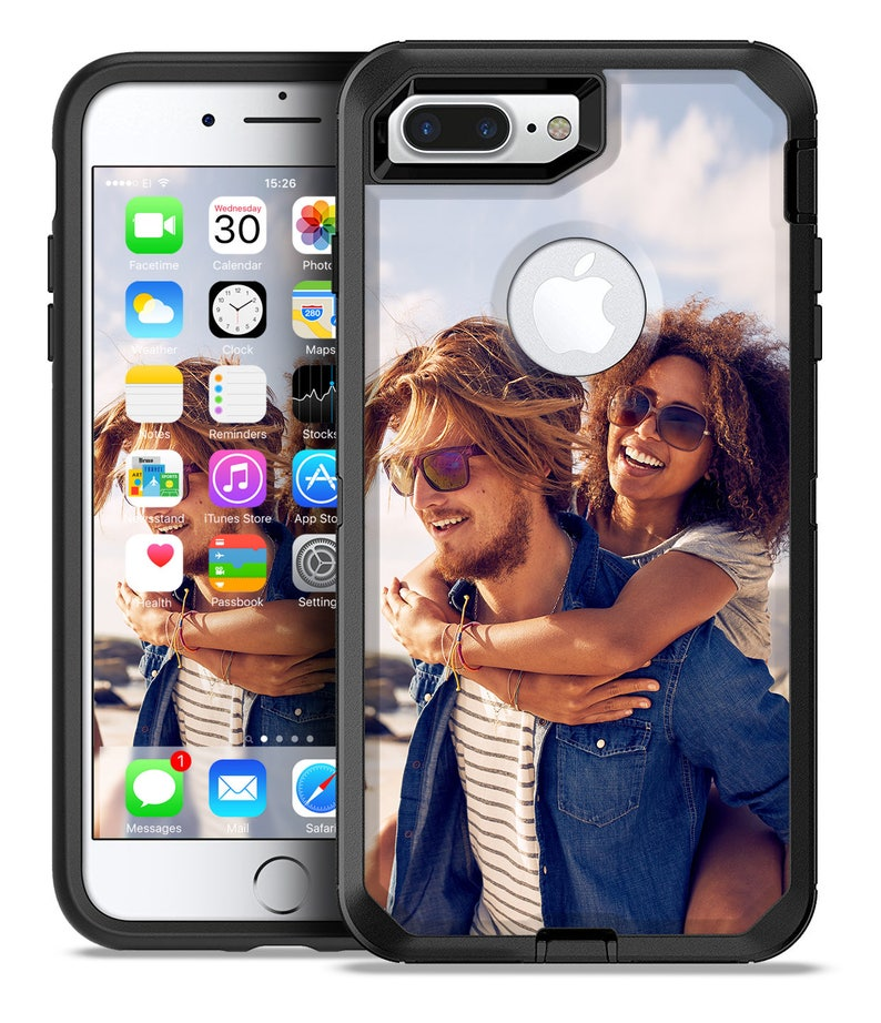 super cute 202cb 6de57 Custom Add Your Own Image - OtterBox Case Skin-Kit for the iPhone, Galaxy &  More