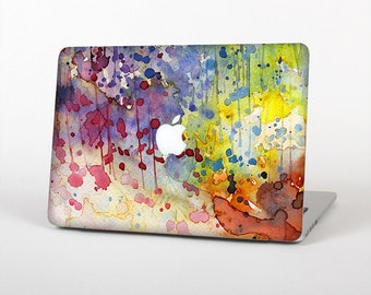 The WaterColor Grunge Setting Skin for the Apple MacBook Air - Pro or Pro with Retina Display (Choose Version)