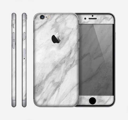 The White Marble Surface Skin for the Apple iPhone 6 or 6 Plus  de26a90400619