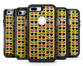 Tropical Twist Sunglasses v3 - OtterBox Case Skin-Kit for the iPhone, Galaxy & More