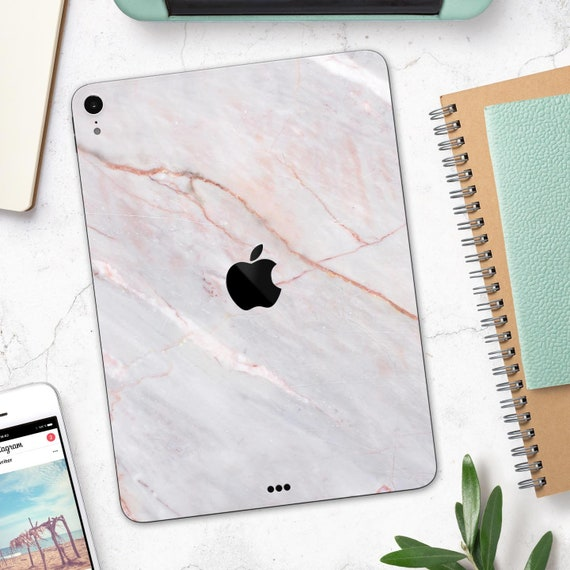 A1673//A1674//A1675 White Marble Surface Full Body Skin Decal for The Apple iPad Pro 9.7-inch