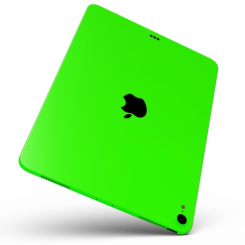 11 10.5 Solid Lime Green V2 9.7 All Models Available Air or Mini Full Body Skin Decal for the Apple iPad Pro 12.9