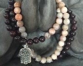 Mala Crystal Beads Neckla...