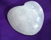 Selenite Heart Crystal...