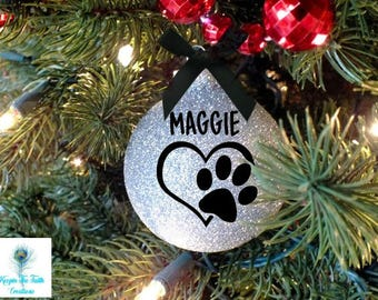 pet ornament christmas ornament dog ornament cat ornament pet gift personalized personalized pet custom pet ornament pet lover