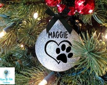 pet ornament christmas ornament dog ornament cat ornament pet gift personalized personalized pet custom pet ornament pet lover