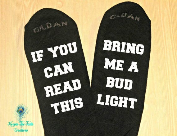 If You Can Read This Bring Me A Pickle Novelty Funky Crew Socks Men Women Christmas Gifts Cotton Slipper Socks