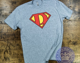 a102c683 Super Dad T-Shirt - Father's Day Tshirt - Gift for Dad Shirt - Superman  Logo Super Dad Tee - Father's Day Gift - Gift for New Dad - Best Dad