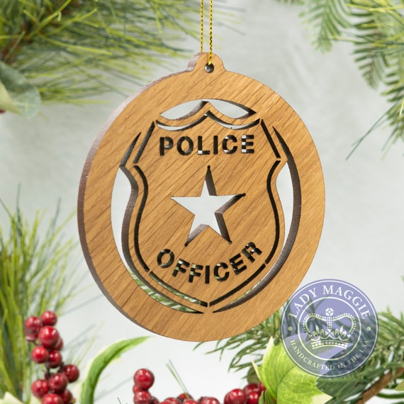image 0 - Police Officer Christmas Decorations
