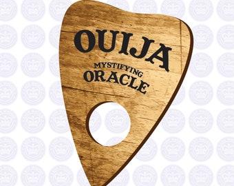 Ouija Planchette Decal - Ouija Board Sticker - Spirit Board Planchette Decal - Ouija Planchette Yeti Decal - Occult - Supernatural - Séance