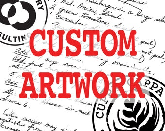 Custom Artwork for Additional Graphic Artist Time - Additional Artwork - Restoration Charges & Small Image Manipulation