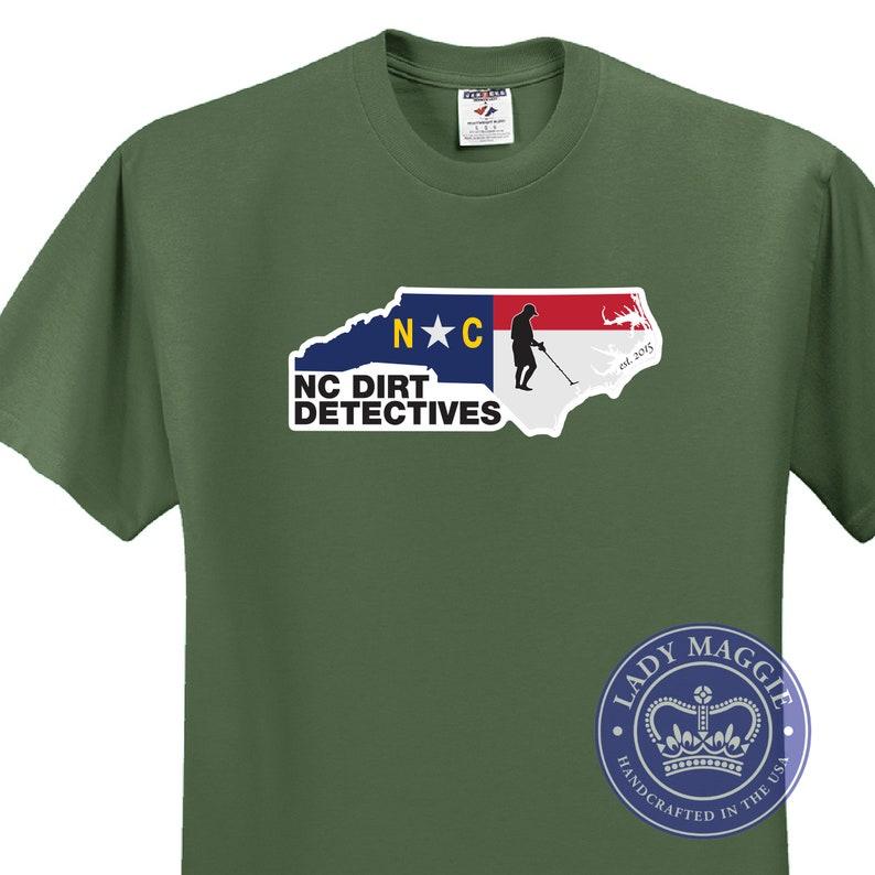 NCDD  North Carolina Dirt Detectives T-shirt  North Carolina image 0