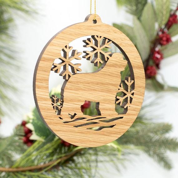 Newfoundland Christmas Wood Ornament - Dog Silhouette Cut Wooden Tree  Decoration - Newfoundland Dog Ornament - Carved Wood Dog Ornament - Newfoundland Christmas Wood Ornament Dog Silhouette Cut Etsy