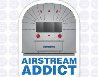 Airstream Addict Decal