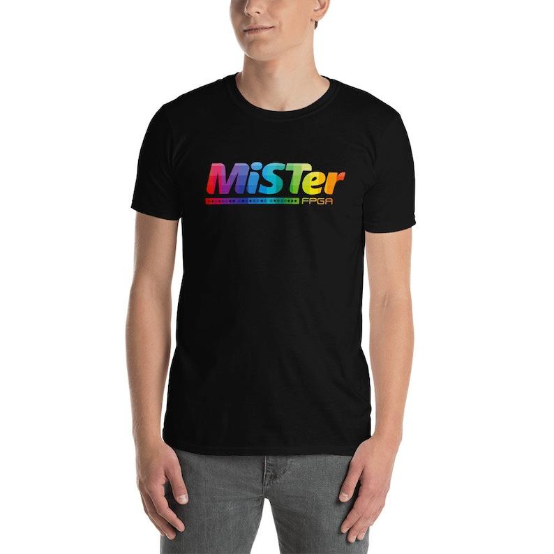 MiSTer T-Shirt  MiSTer FPGA Shirt  Gamer Shirt  Classic Black
