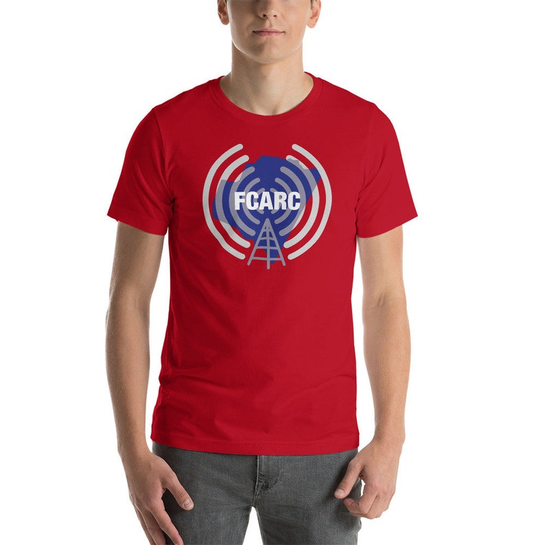 FCARC T-Shirt Personalized with Call Sign  Franklin County Red