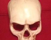 Half-skull urethane rubber mask