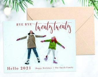 Terah Kelley Custom Bye Bye 2020 Holiday Card 5x7