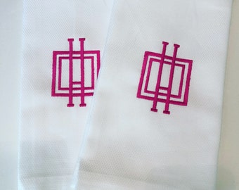 Monogram Guest Towel / Wedding Gift / Monogram Gift / Hand Towel