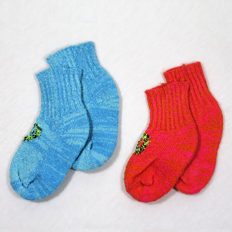 2 Pair Size 0 to 3 months  Soft and Cozy Frosty Heart and image 0