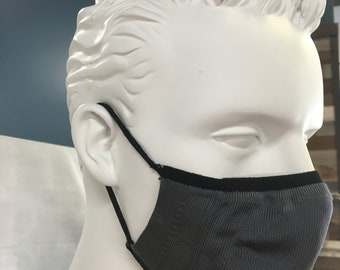 LIGHT WEIGHT- Size - M/L- Athletic Type - double Layer 3D Face Masks  - Made in USA & has Filter Pocket - Non-medical grade - Sports colors