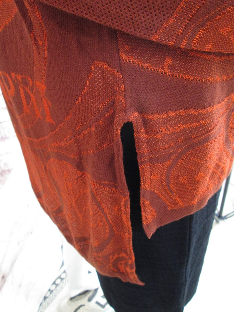 Nouveau Mermaid Sale Limited Edition Original Design Spice /& Copper Mermaid Jacket knit Made in USA best seller