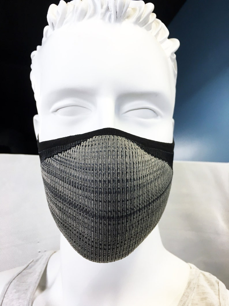 3D Athletic Fit Face Mask  Adjustible Metal Insert  Brooklyn image 0