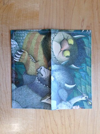 Checkbook Cover - Where the Wild Things Are - The Wild Rumpus - Children's Book Accessories