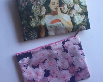 Lana Del Rey Peyote Cosmetic Bag (Large)